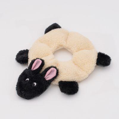 Loopy schaap sheep hond spelen speelgoed