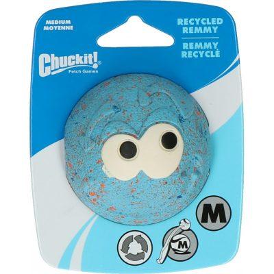 Remmy chuck it bal hond rubber blauw