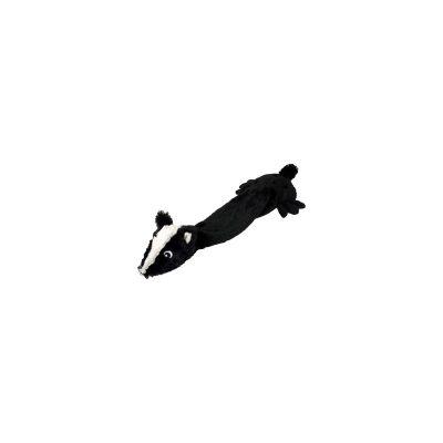 knuffel hond zwart stinkdier flamingo