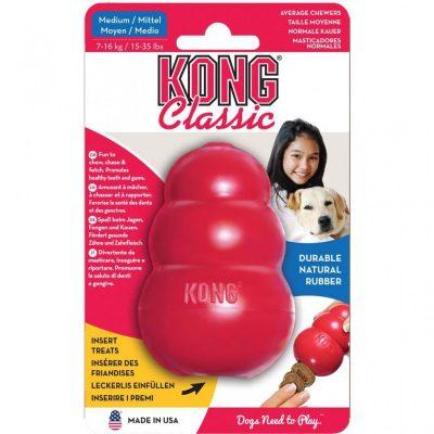 kong rood hond pasta vullen speelgoed