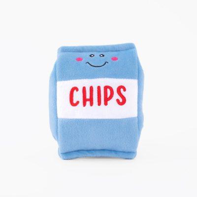 Zippypaws chips speeltje hond knuffel nomnomz